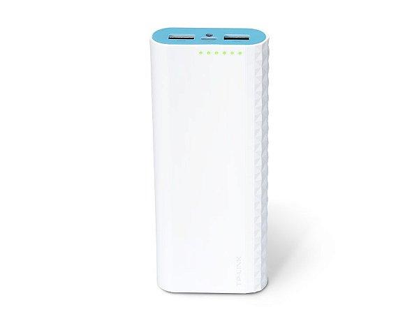 Carregador Portátil TP Link, 2 Portas USB 15600mAh, Branco - TL-PB15600
