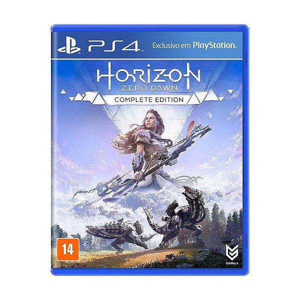 Jogo Horizon Zero Dawn (Complete Edition) - PS4 (Cartelado)