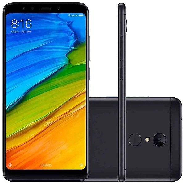 Smartphone Xiaomi Redmi 5 Plus Tela 5.99 64GB 12MP-Preto