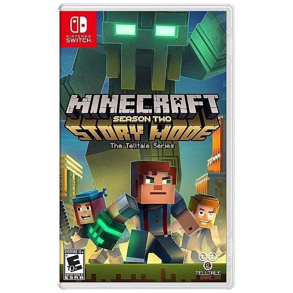 Jogo Minecraft Story Mode Season Two - Switch