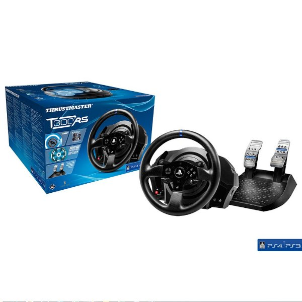 Volante + Pedal para Games - Thrustmaster T300 RS