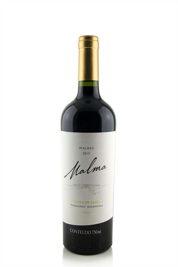 Vinho Tinto Malma Reserva de Familia Malbec 2013