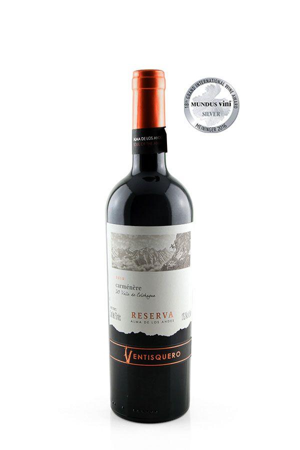 Vinho Tinto Ventisquero Reserva Alma de Los Andes Carménère 2017