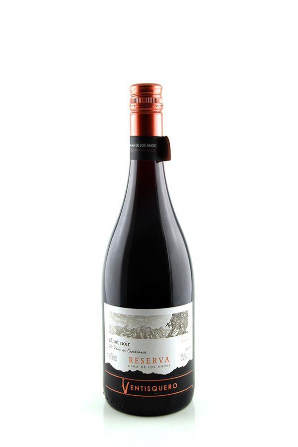 Vinho Tinto Ventisquero Reserva Alma de Los Andes Pinot Noir 2017