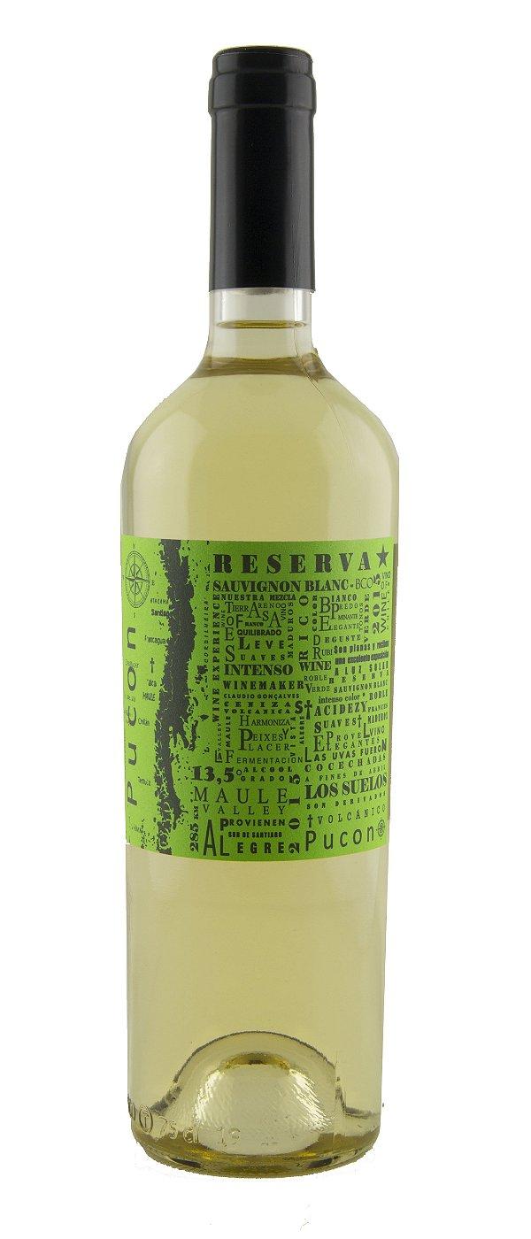 Vinho Branco Pucon Reserva Sauvignon Blanc 2015