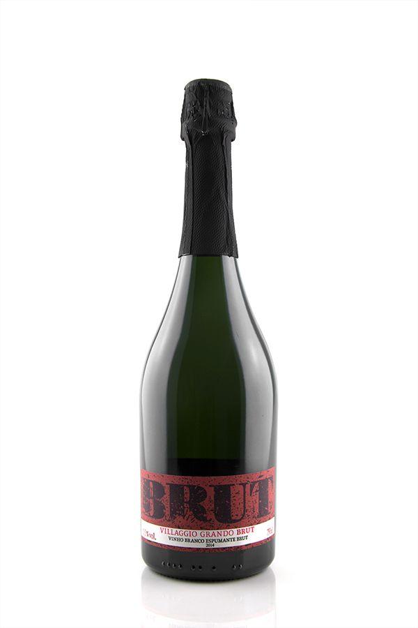 Vinho Branco Espumante Villaggio Grando Brut 2014