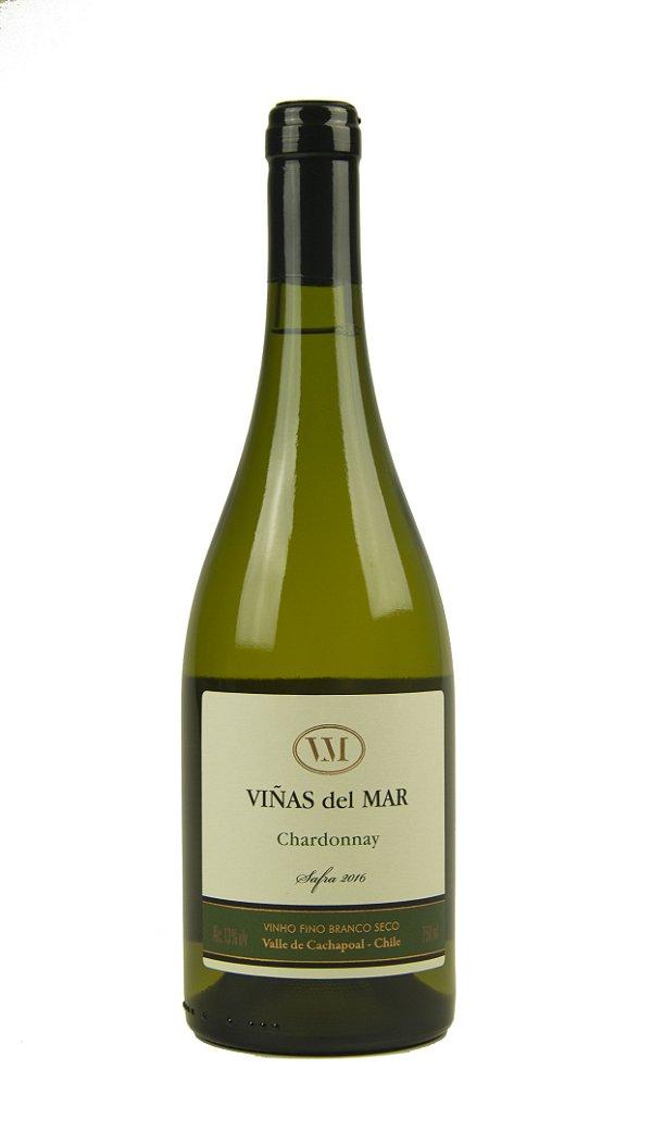 Vinho Branco Viñas del Mar Reserva Chardonnay 2016
