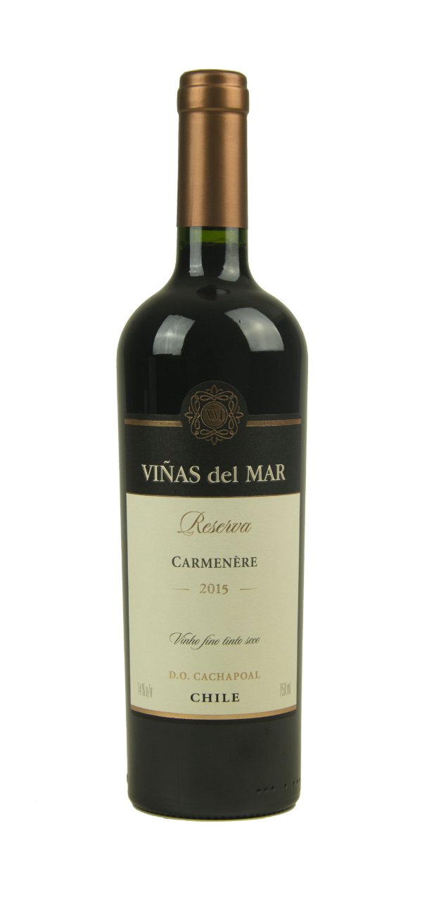 Vinho Tinto Viñas del Mar Reserva Carmenère D.O. 2015