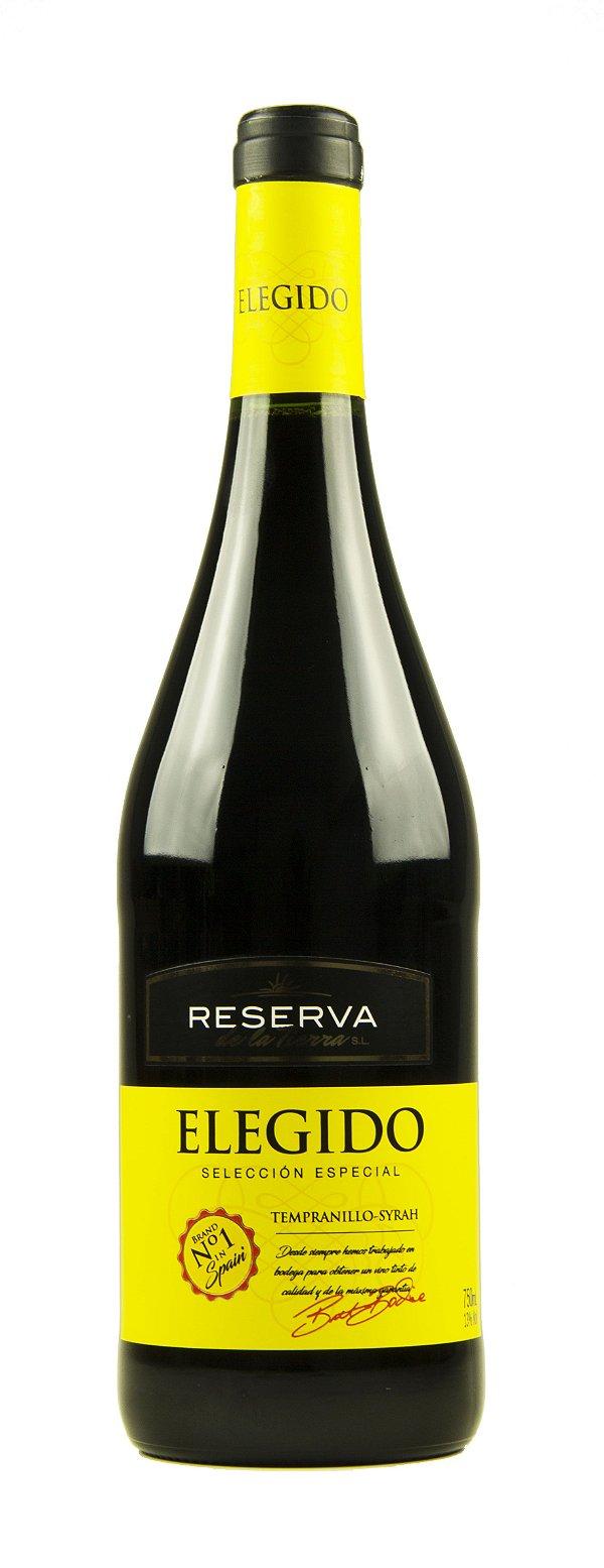 Vinho Tinto Elegido Selección Especial Tempranillo-syrah 2016