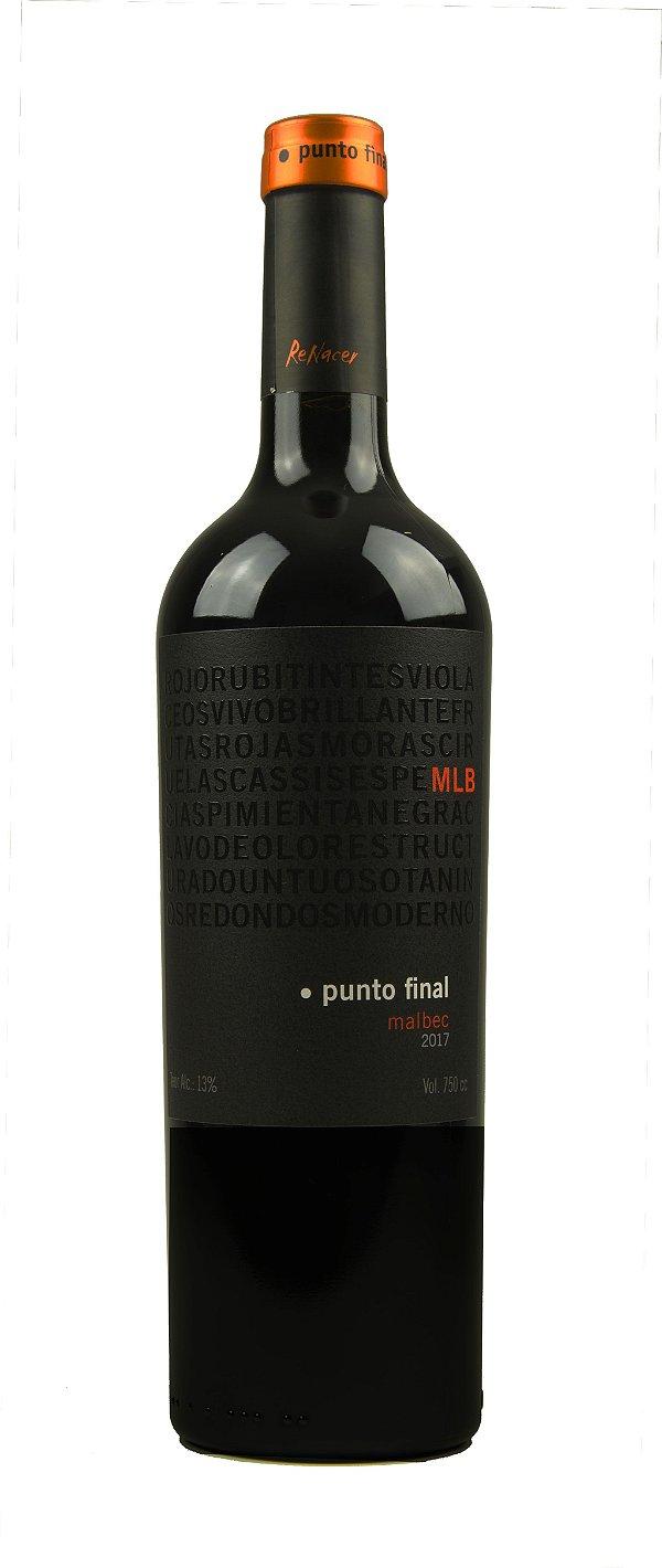 Vinho Tinto Punto Final Malbec Etiqueta Preta 2017