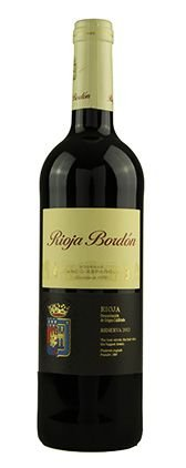 Vinho Tinto Rioja Bordón Reserva DOC 2012