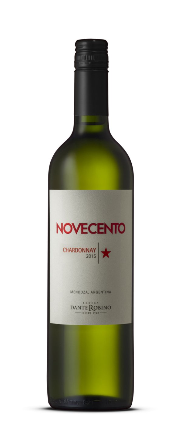 Vinho Branco Novecento Dante Robino Chardonnay 2017
