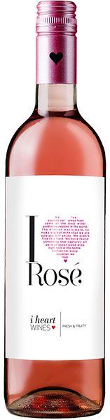 Vinho I Heart Rosé - Tempranillo
