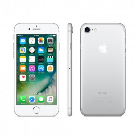 CELULAR APPLE IPHONE 7 PLUS 256GB MN4X2BZ/A A1784 PRATA