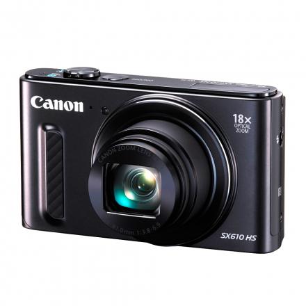 CÂMERA CANON SX610HS 20.2MP/18X/WIFI PRETO