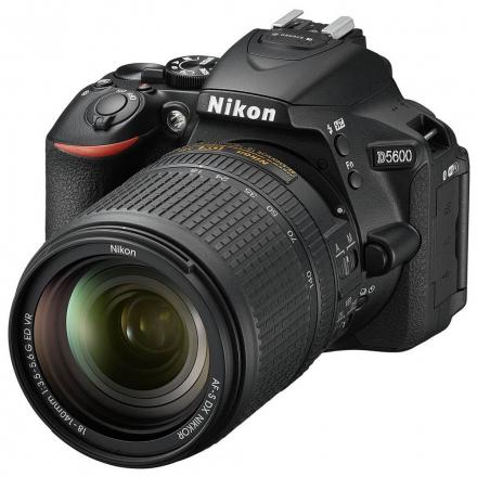 CAMERA NIKON D5600 DSLR AF-S 18-140MM VR