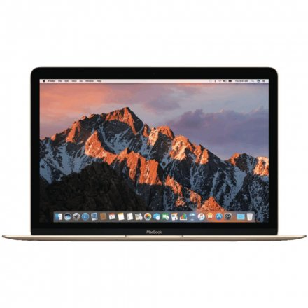 "NOTEBOOK APPLE MACBOOK MNYL2LL/A I5-1.3/8/512/12"" (2017) DOURADO"