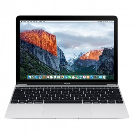 "NOTEBOOK APPLE MACBOOK MNYH2LL/A M3-1.2/8/256/12"" (2017) PRATA"