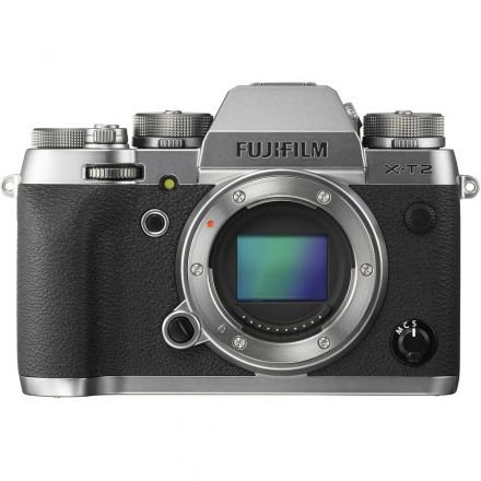 CAMERA FUJIFILM XT2 BODY PRATA