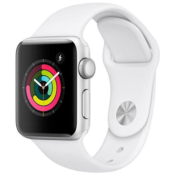 Apple Watch Series 4 40 mm Silver/White