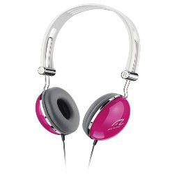 Fone De Ouvido Multilaser Pop Pink Hi-fi Estéreo Conecta-se Com Iphone Ipod Mp3 P2 - Ph055