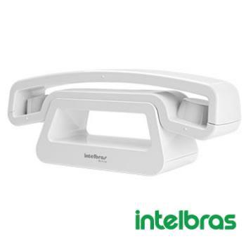 Telefone Sem Fio Digital Intelbras branco TS8120