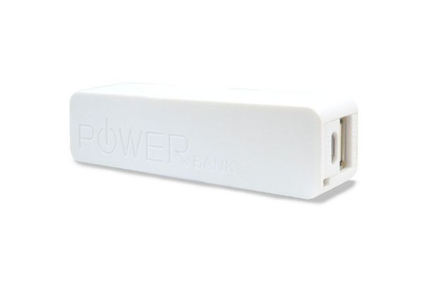 CARREGADOR PORTATIL POWER BANK HARLINE -AS001 branco