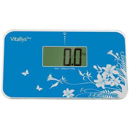 VITALLYS BALANCA DIGITAL PORTATIL AZUL (CAPACIDADE 150KG) - VPS-1B -