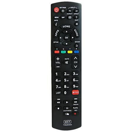 CONTROLE PARA TV PANASONIC LCD SMART TV TNQ2B4903 (NETFLIX) MXT C01302