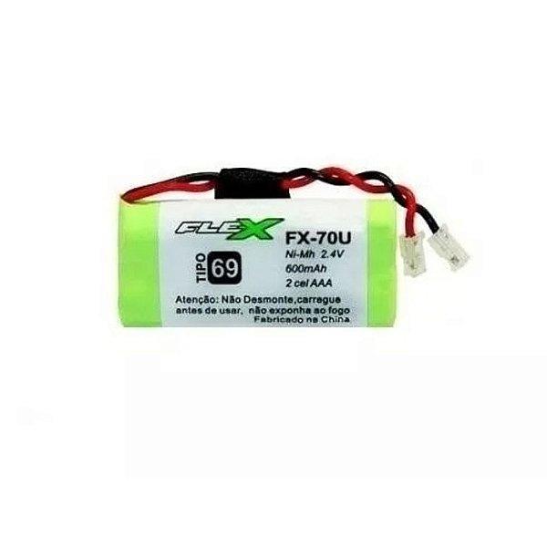 Bateria para telefone sem fio  fx-70u aaa