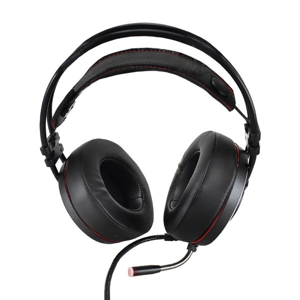 Headphone Fone de Ouvido Evus USB 7.1 Gamer F-03 Preto