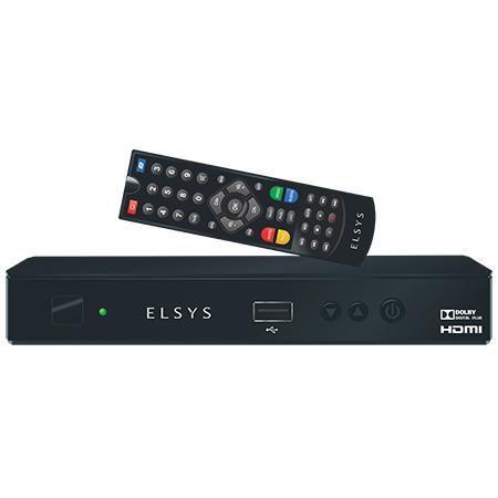 RECEPTOR ELSYS ANALÓGICO DIGITAL e HD DUOMAX ETRS50
