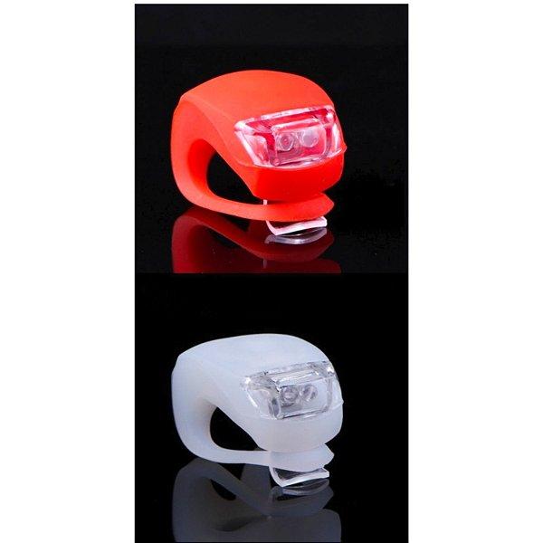 Sinalizador LED Para Bicicleta LUATEK Par