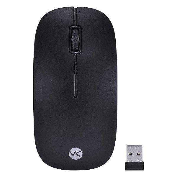 MOUSE SEM FIO 2.4 GHZ 1200 DPI DYNAMIC FLAT PRETO USB – DM100