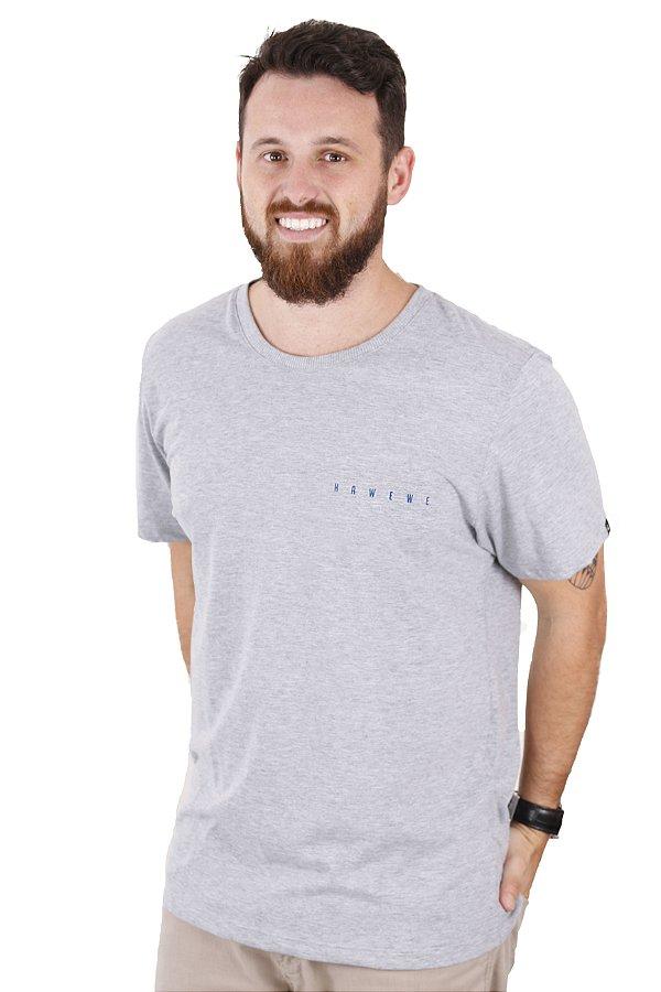 Camiseta Hawewe Surf Básica Mescla