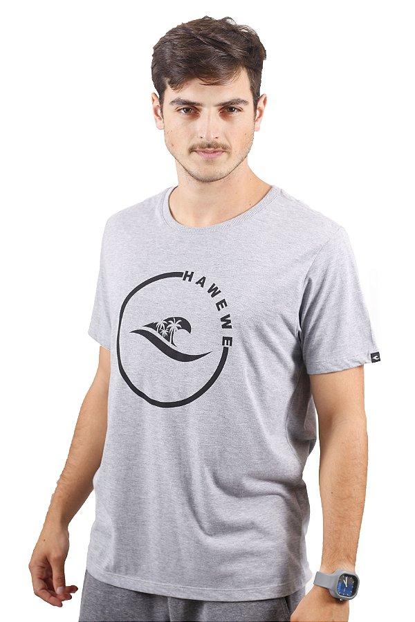Camiseta Hawewe Surf Onda Coqueiros Mescla