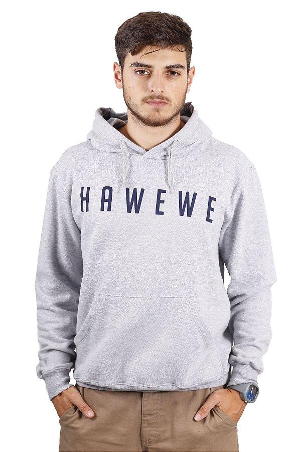 Moletom Hawewe Surf com Capuz Mescla
