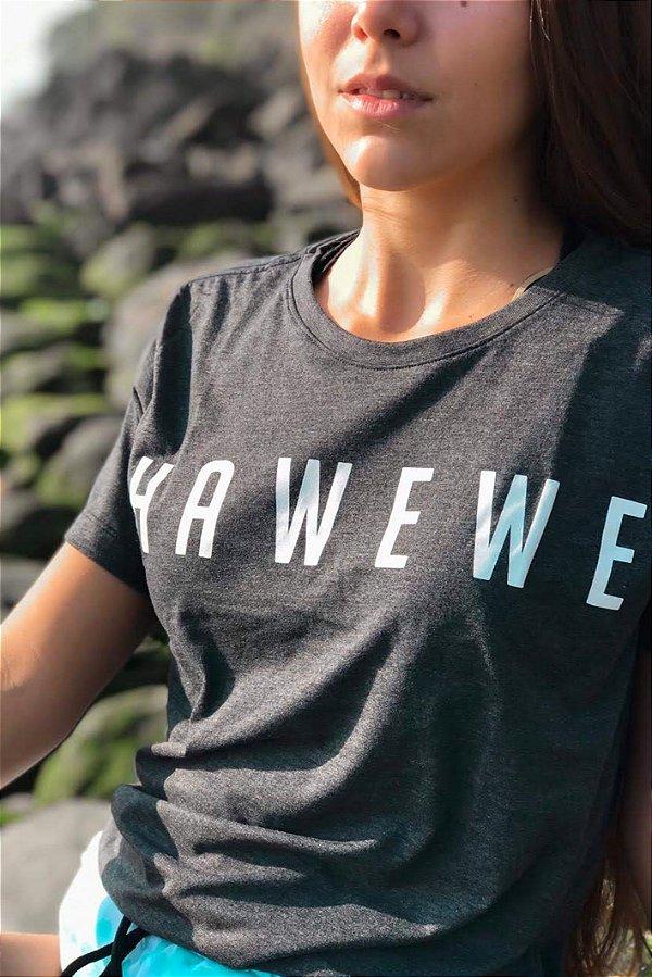 Camiseta Hawewe Grafite