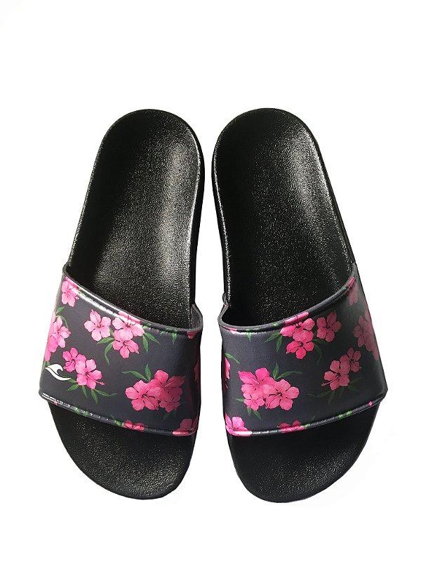 Chinelo Slide Hawewe Floral