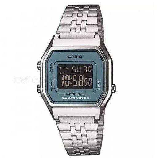 Relógio Casio LA680WA - 2BDF Cromado