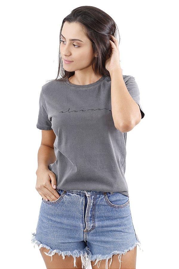 Camiseta Hawewe Ela é Mar Estonada