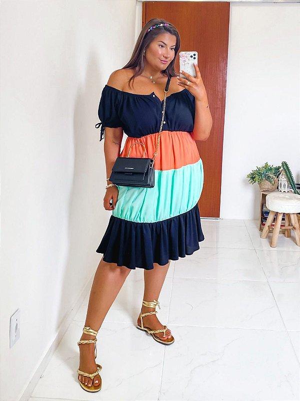 Vestido 3 Marias plus size