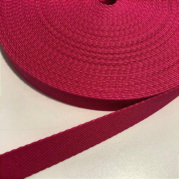 Alça de Poliéster 2cm Pink