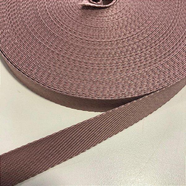 Alça de Poliéster 2cm Rosê