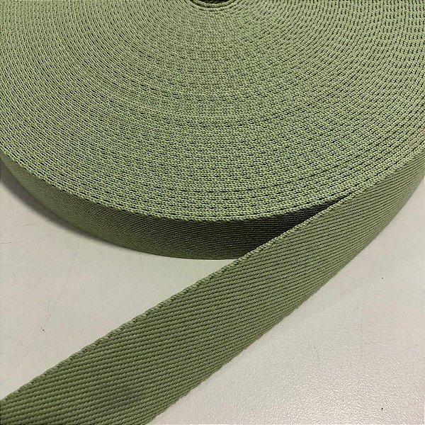 Alça de Poliéster 3cm Verde Menta