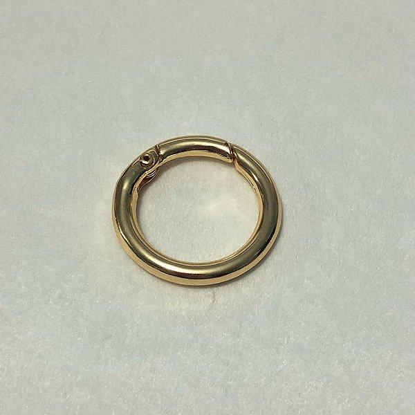 Argola Articulada Dourada 4cm