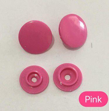 Botão de Pressão n° 12 Pink (pct 10)