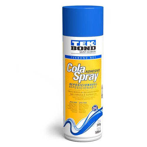 Cola Spray Reposicionável Tek Bond