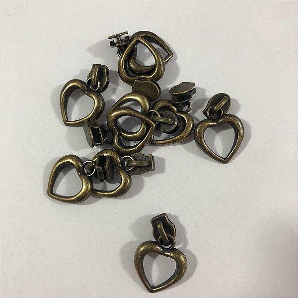 Cursor 3mm Coração Ouro Velho (5 unid)