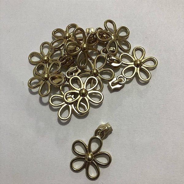 Cursor 3mm Florzinha Dourada (5 unid)